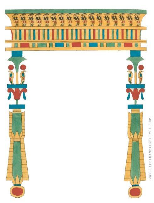Free printable ancient egypt. Egyptian clipart border