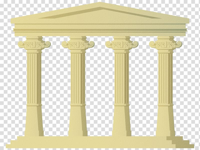 Column clipart roman temple. Ancient architecture shamanism facade