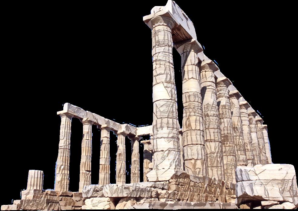 Ftestickers poseidon architecture columnsfreetoe. Column clipart roman temple