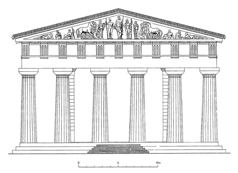 Download classical architecture . Column clipart roman temple