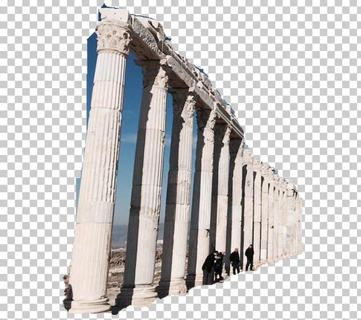 Ancient greek poetry architecture. Column clipart roman temple