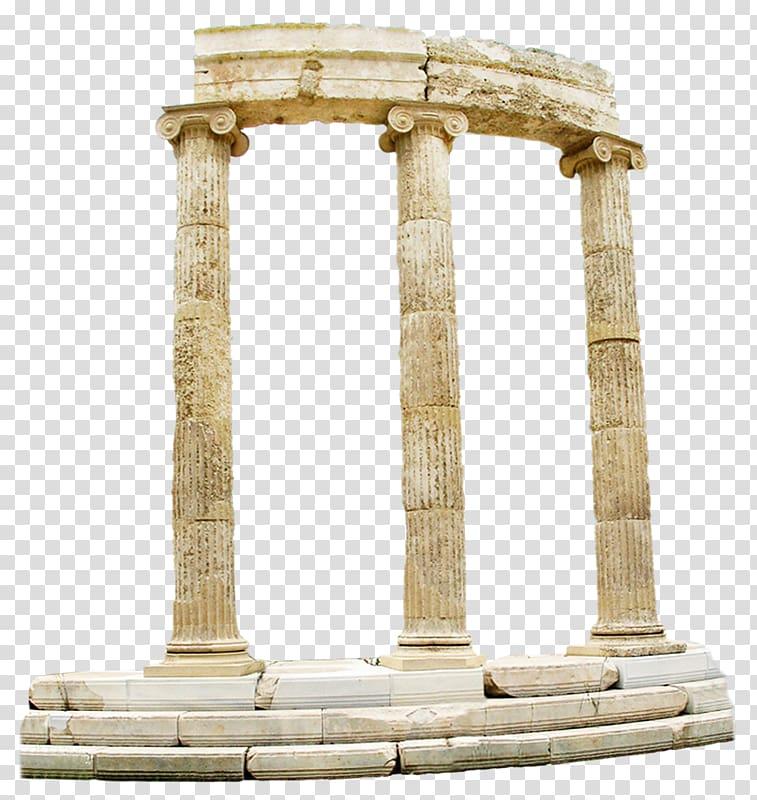 Architecture transparent background . Column clipart statue roman