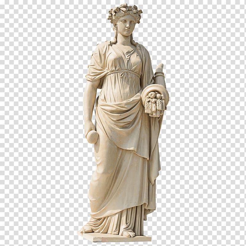 Woman statute marble sculpture. Column clipart statue roman
