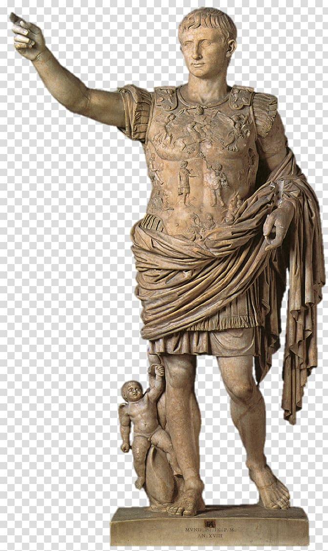 Column clipart statue roman. Augustus of prima porta