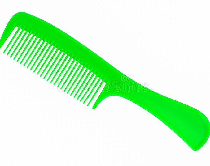 Hair clip art alternative. Comb clipart