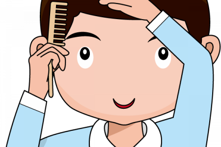 Comb clipart boy washing face. Free