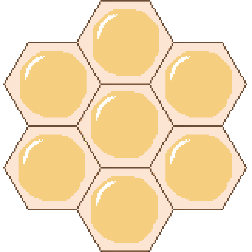 Apiary and release files. Honeycomb clipart honey comb