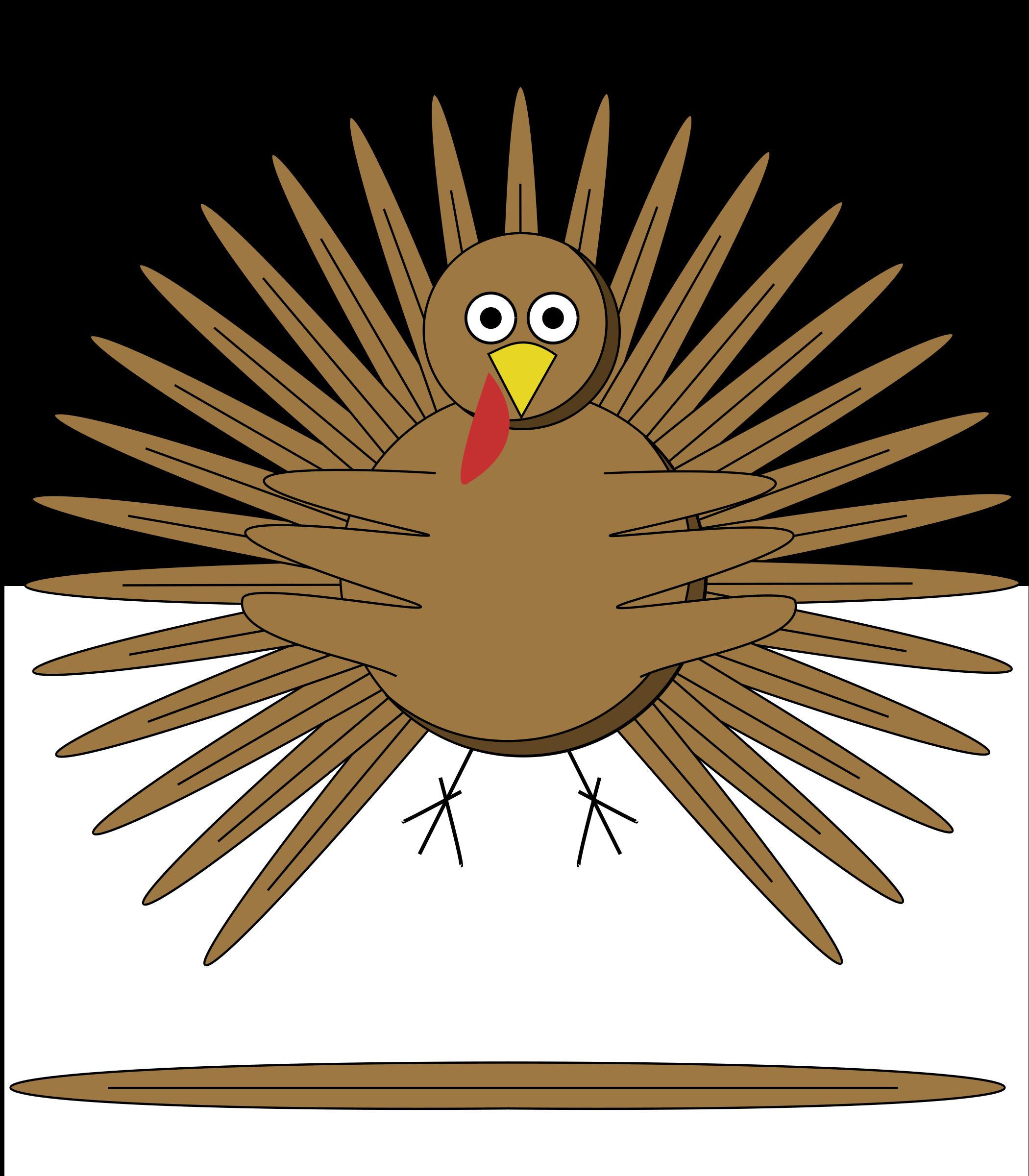 Comb clipart cartoon. Turkey big image png