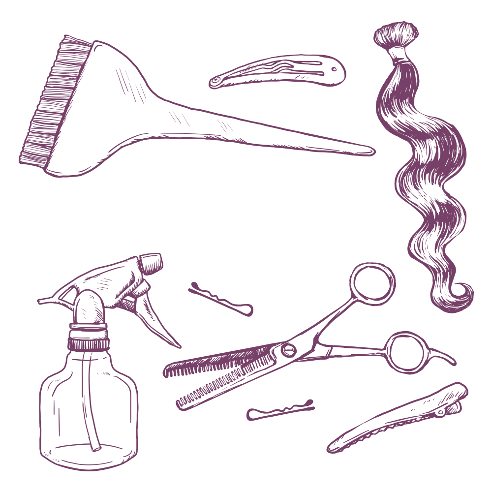 Drawing at getdrawings com. Cosmetology clipart cosmetologist