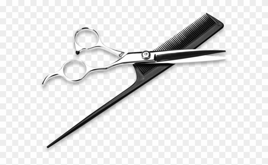 Comb clipart drawing. Shears hairdresser