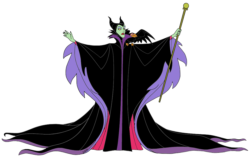 Mirror clipart maleficent. With diablo the raven