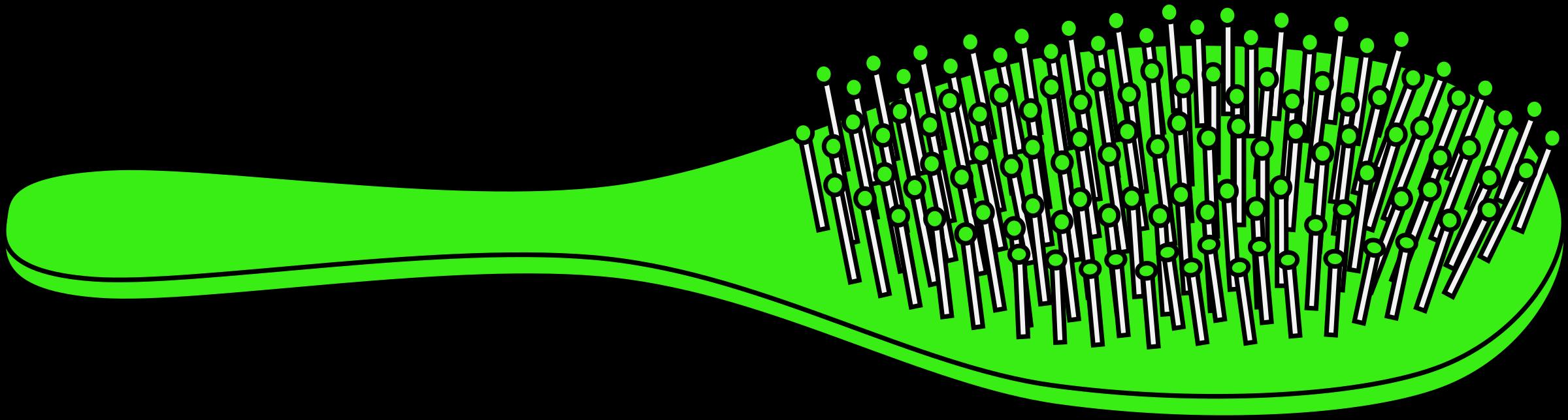 green clipart comb