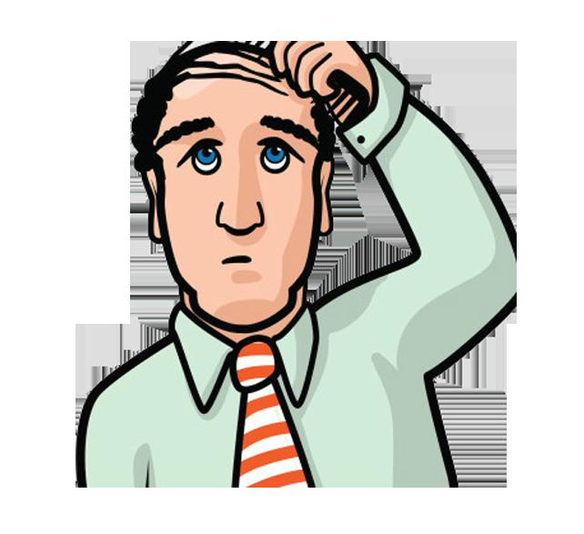 Comb loss hairstyle clip. Gum clipart hair clipart