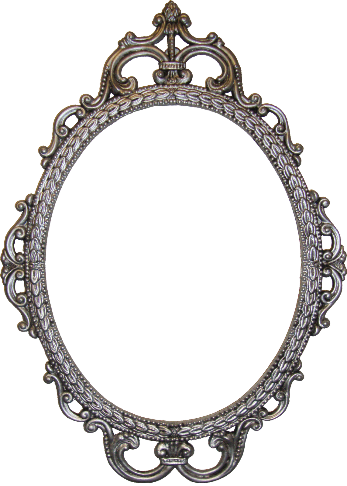 Frame presenting digital vintage. Comb clipart mirror