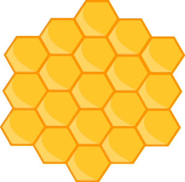 Honeycomb cartoon
