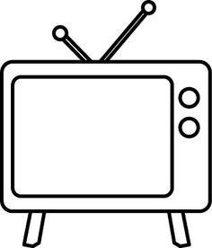 Television clipart plastic object. Comb clip art blue