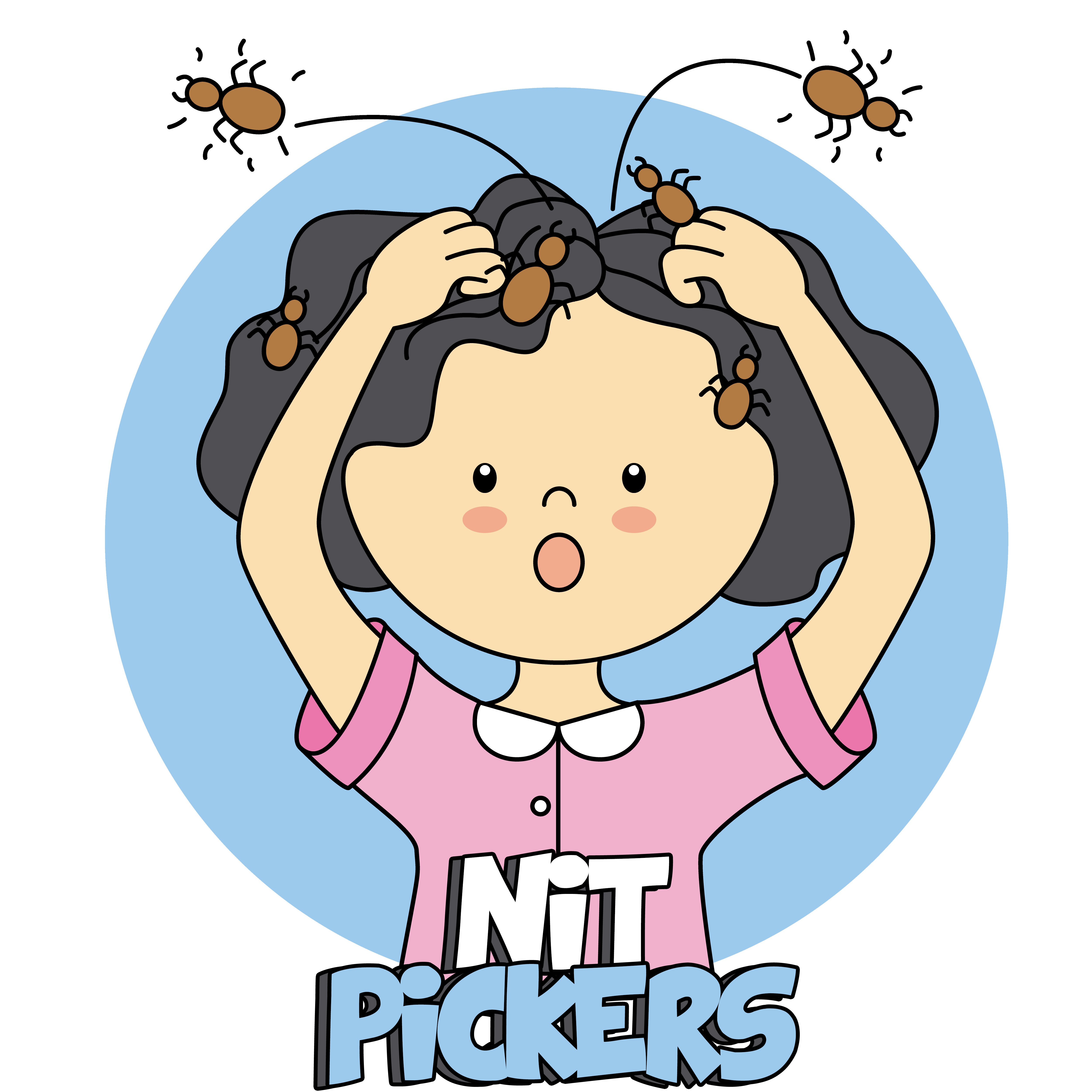 Facts of lice nit. Nervous clipart student