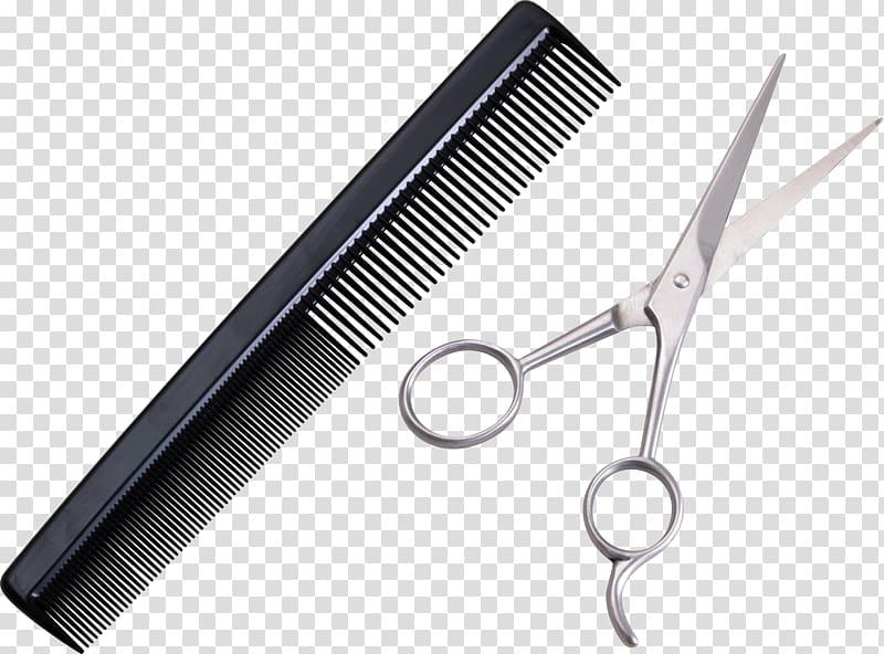 Hair cutting shears scissors. Comb clipart sissor