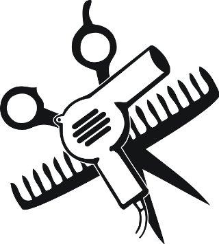 And scissors free download. Comb clipart sissor