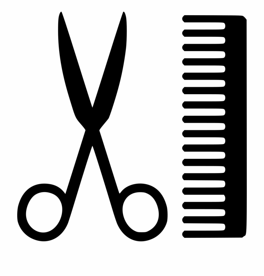Comb clipart sissor. And scissors png hairdresser
