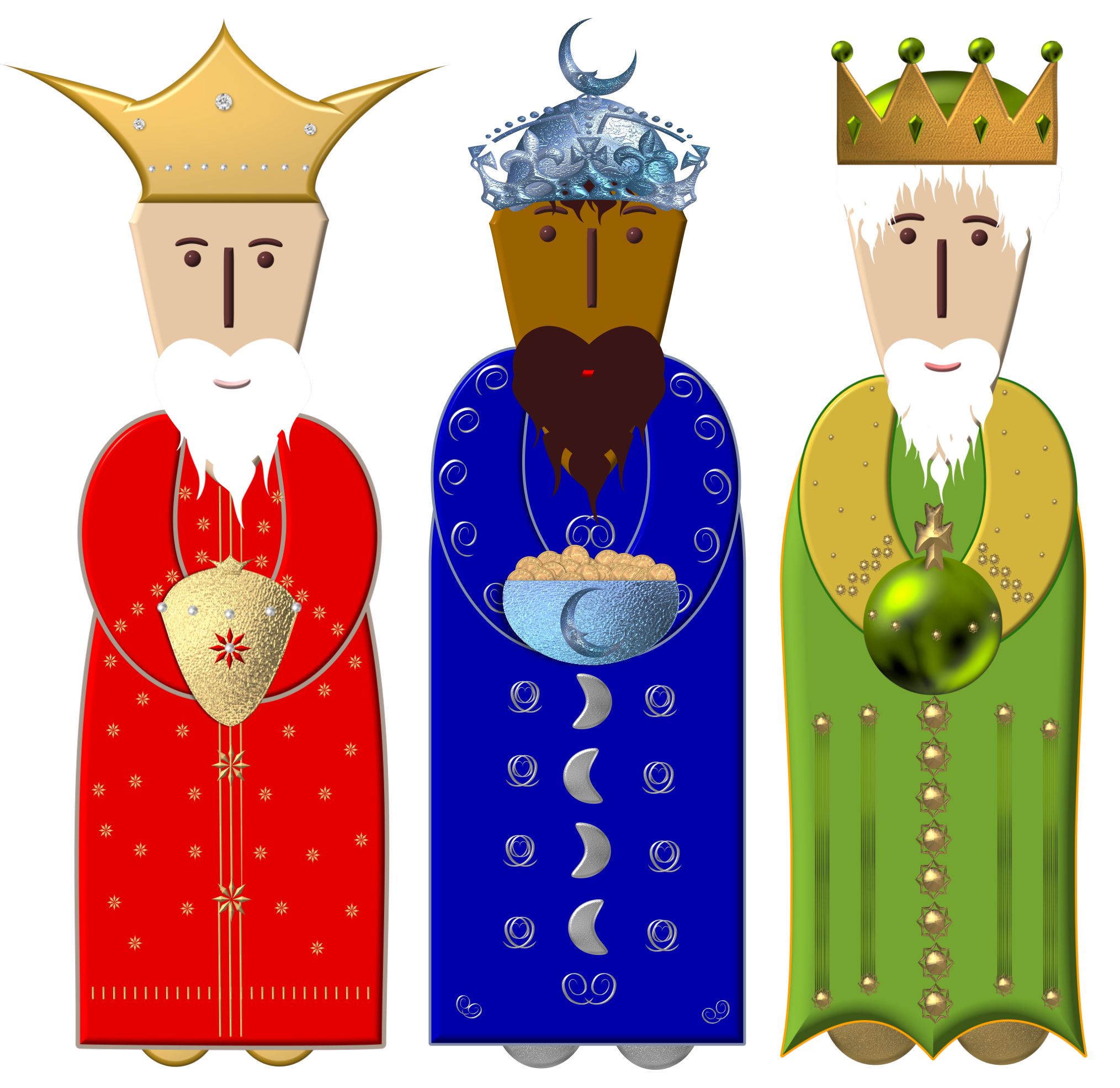 King clipart wise man.  collection of men