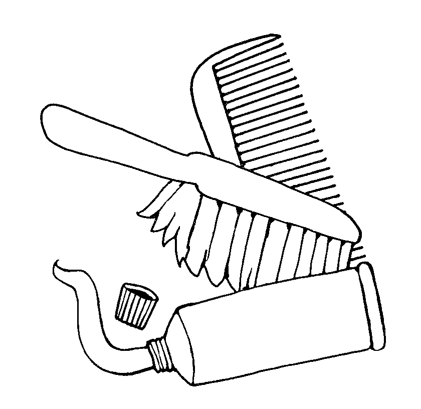 Comb clipart toothbrush. Mormon share clip art