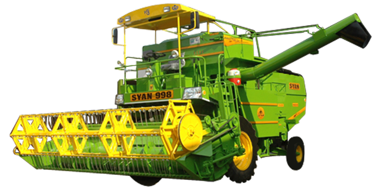 Combine png images. Manufacture harvester model syan