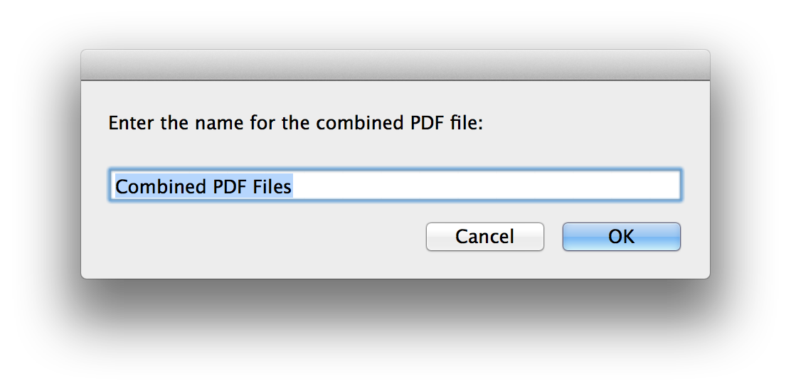 Os x combine pdfs. Combining png files