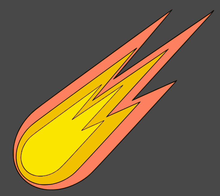 Comet clipart. Space png html