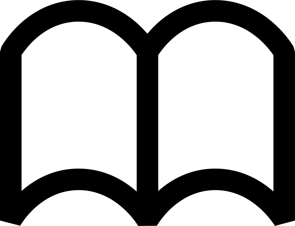Comet clipart arch. Open book svg png