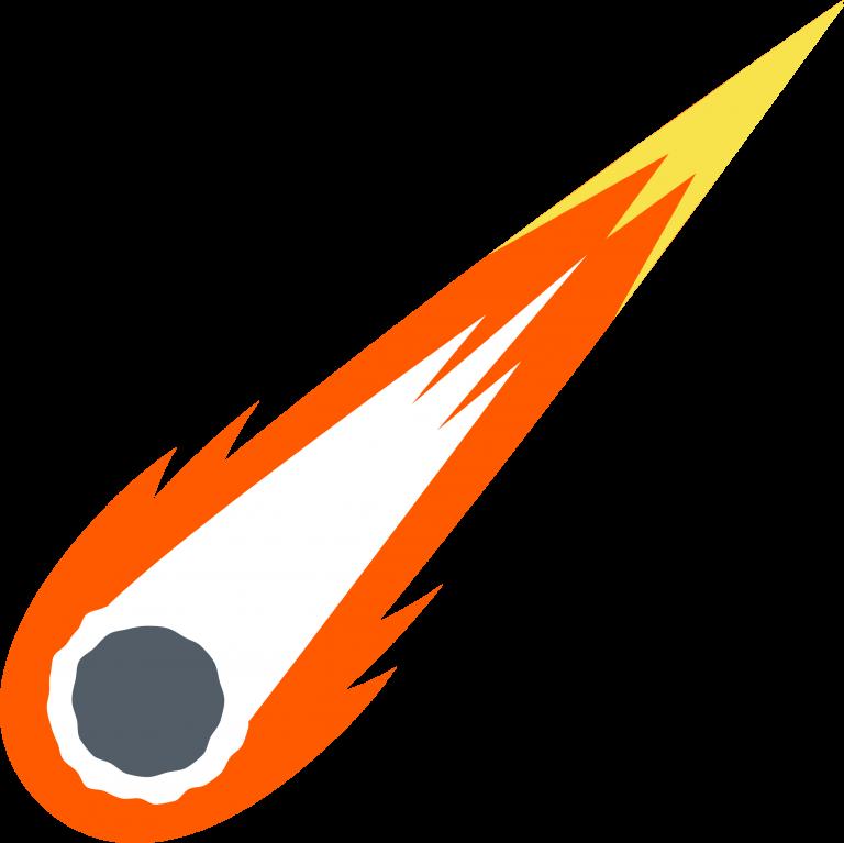 Explore your universe logos. Comet clipart comet space
