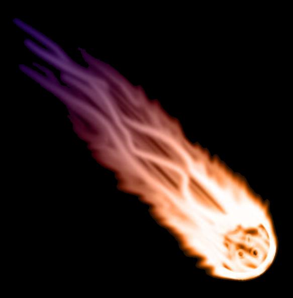 Meteor clipart fireball. Fire comet shootingstar balloffire