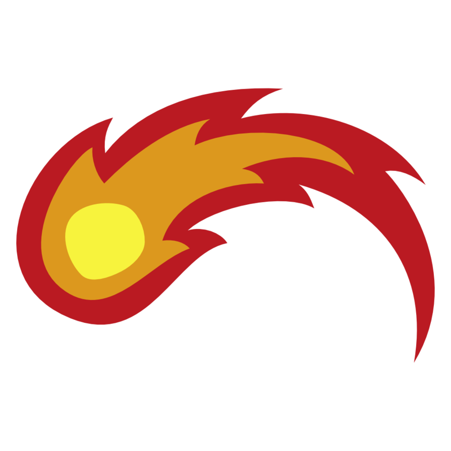 Cutie mark oc by. Fireball clipart vector