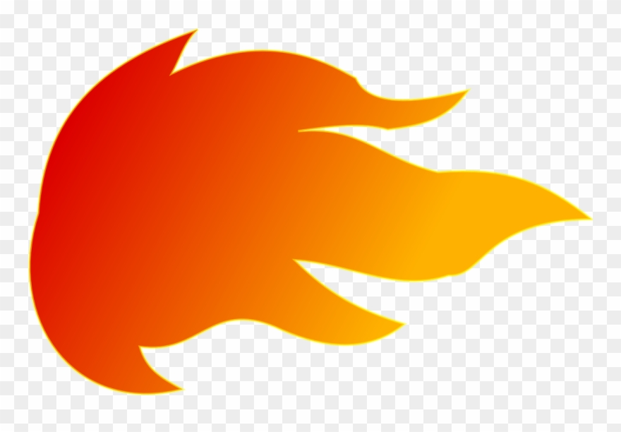 Flame image png download. Fireball clipart comet tail