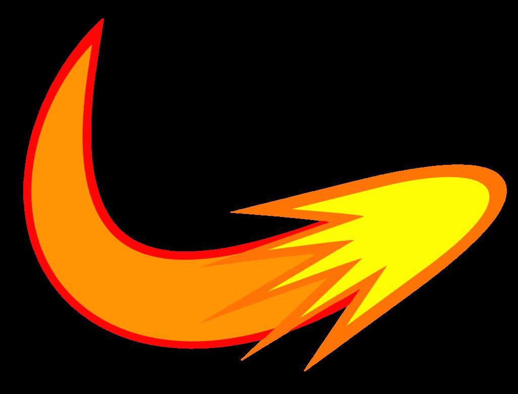Comet cutie mark request. Fireball clipart astroid