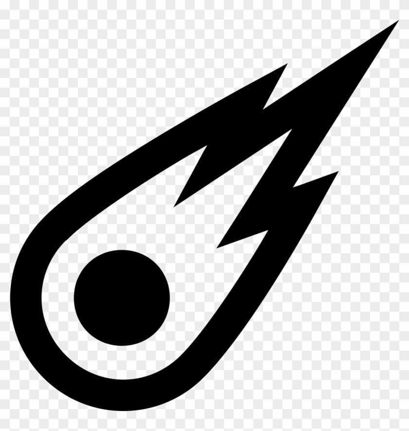 Comet clipart icon. Svg royalty free png