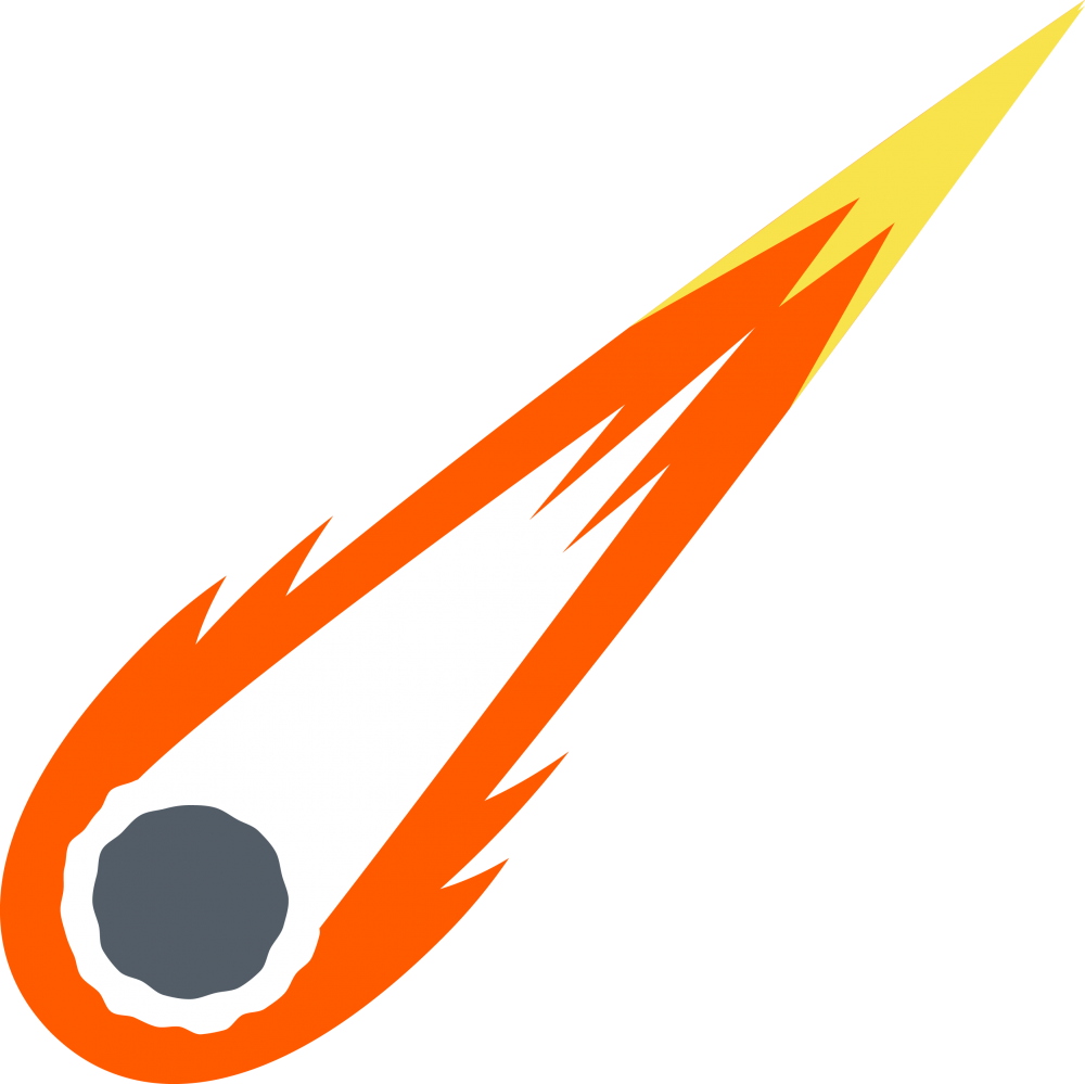 Comet clipart icon. Download transparent background free