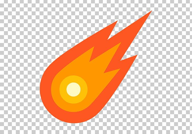 Computer icons planet asteroid. Comet clipart icon