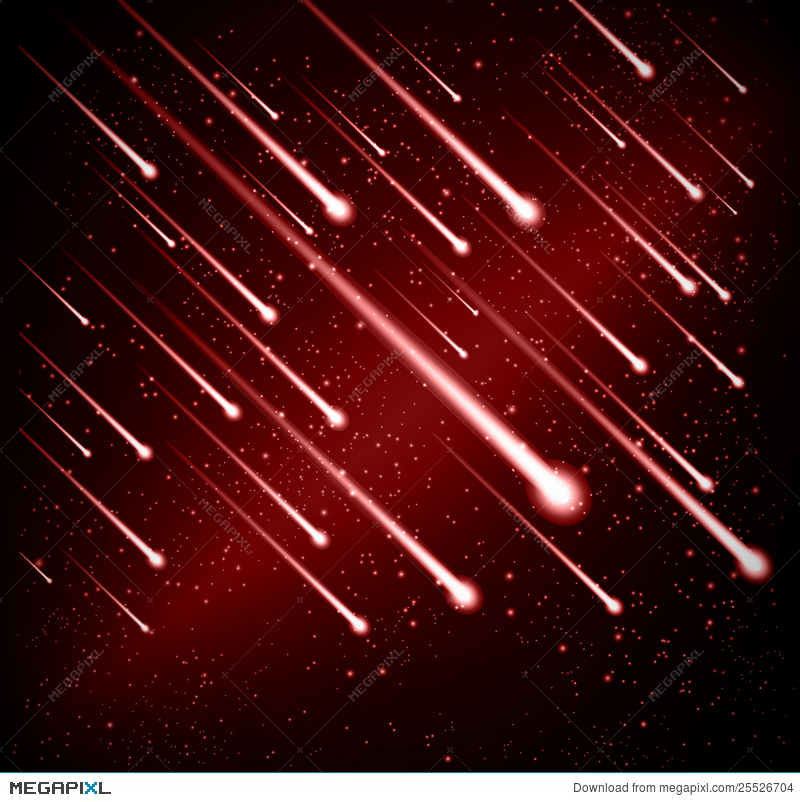 Comet clipart meteor shower. Background illustration megapixl