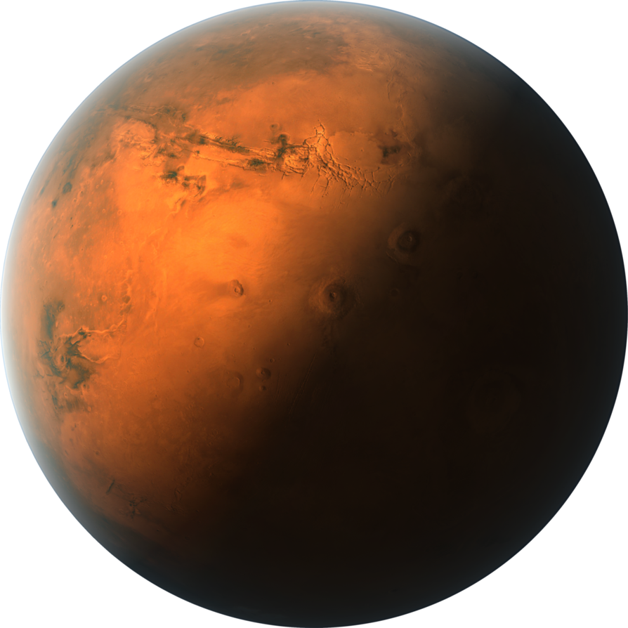 The solar system example. Planet clipart red planet