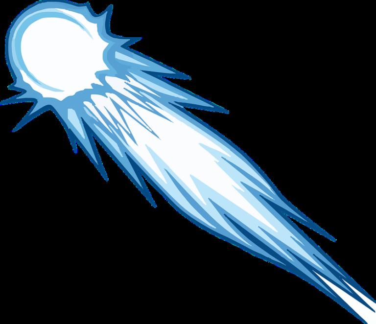 Index of wp content. Comet clipart meteoroid