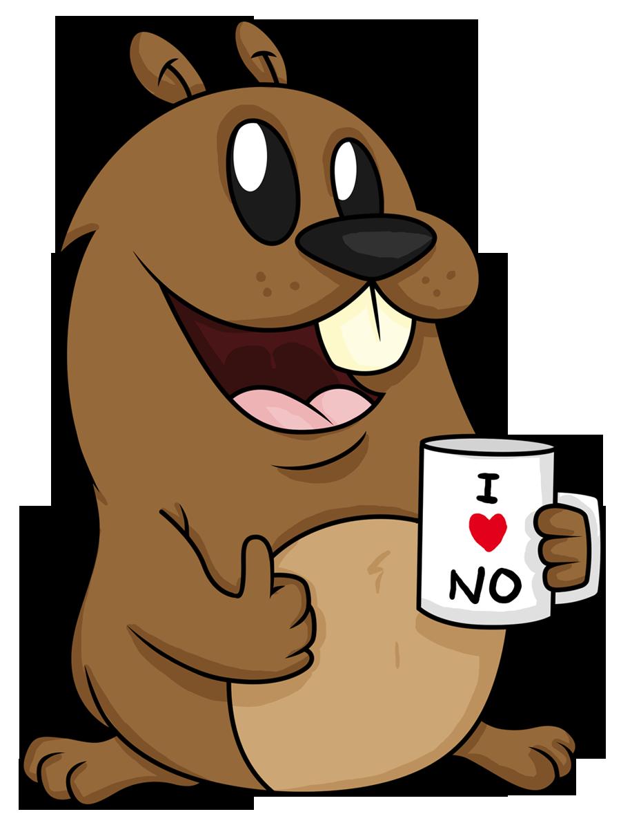 Go for no gopherno. Groundhog clipart gopher
