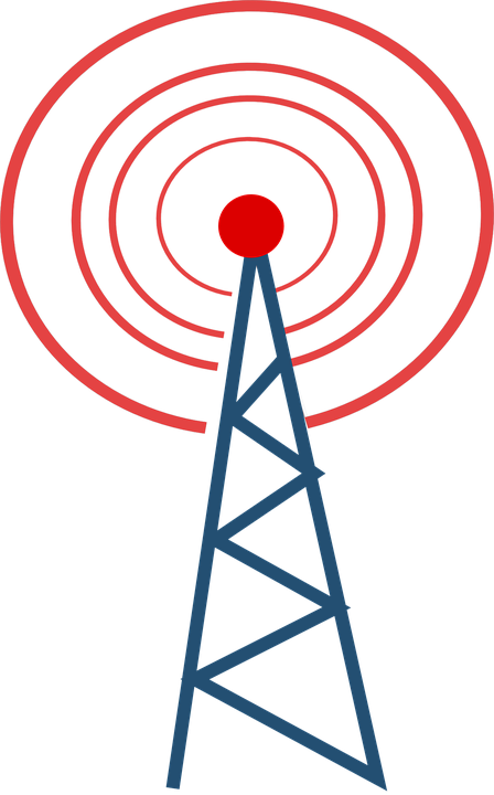 Communication clipart cell tower. Trasmitter group transmission restored