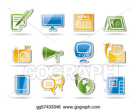 Communication clipart communication channel. Eps vector channels stock
