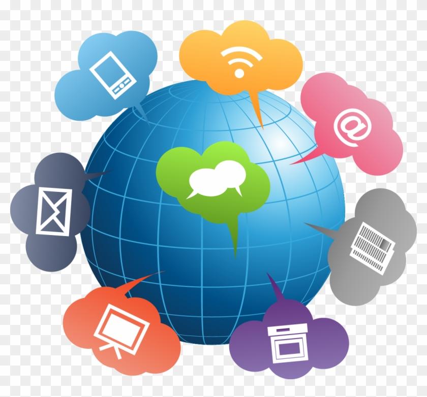 Improvement global hd png. Communication clipart communication plan
