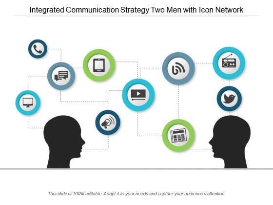 Communication clipart communication strategy. Integrated two men with