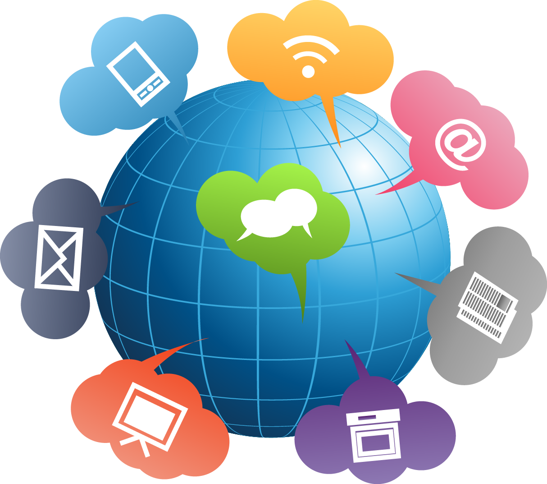 Communication clipart digital communication.  collection of transparent
