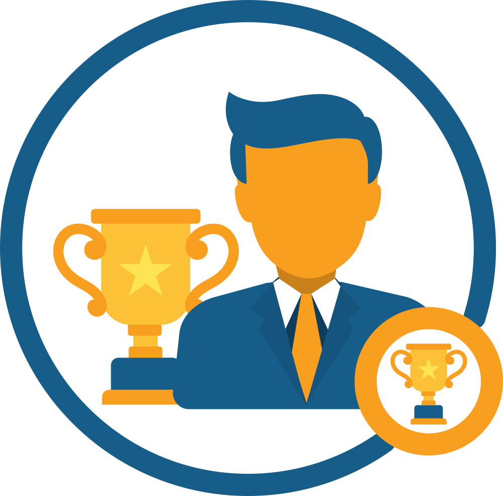 Employer of choice awards. Motivation clipart motivated employee