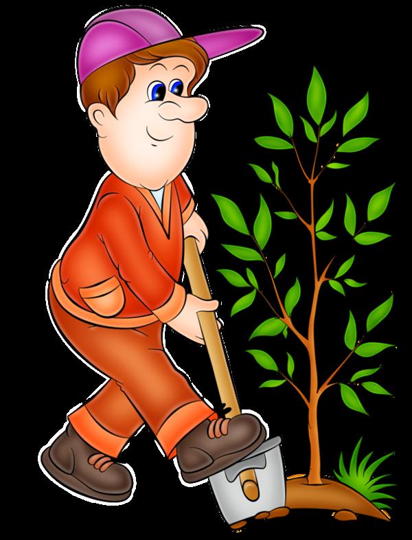 Personnages illustration individu personne. Gardener clipart mother