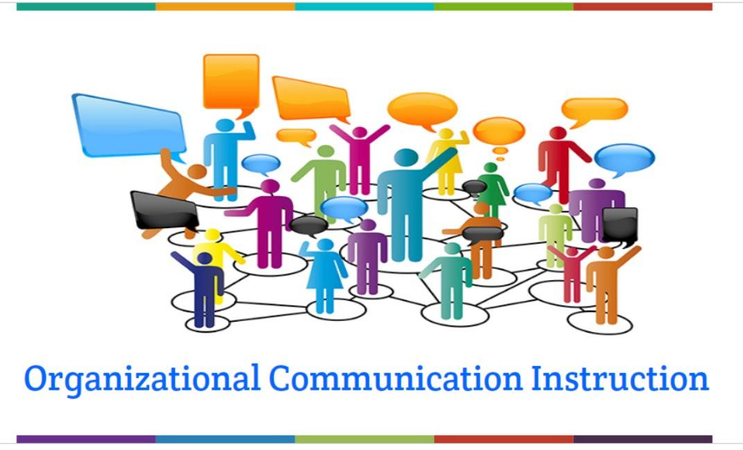 Communication clipart instruction. Organizational